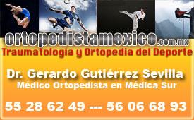 Dr. Gerardo Gutiérrez Sevilla - Especialista en Ortopedia